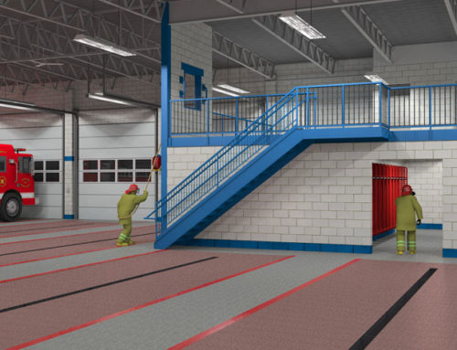 Visualizing a Fire Station Before It's Built