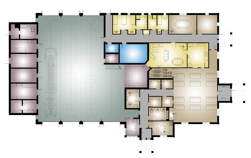 East Putnam, NY | Mitchell ociates Architects on ambulance design plan, firehouse floor plans dimensions, firehouse interior design,