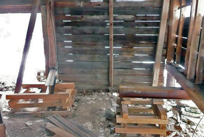 Office During Renovation